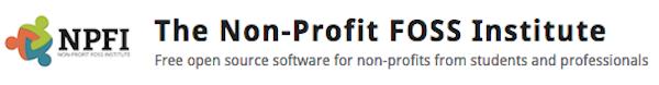 NPFI: The Non-Profit FOSS Institute